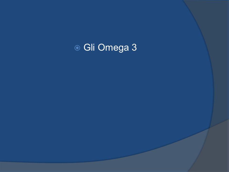 Gli Omega 3