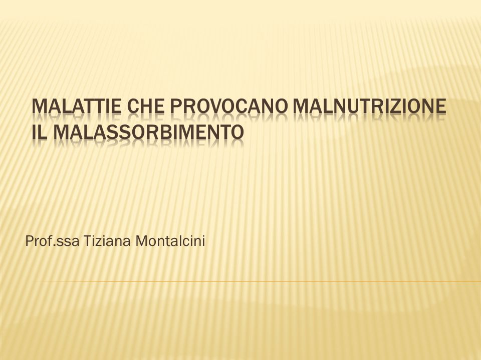 Prof.ssa Tiziana Montalcini