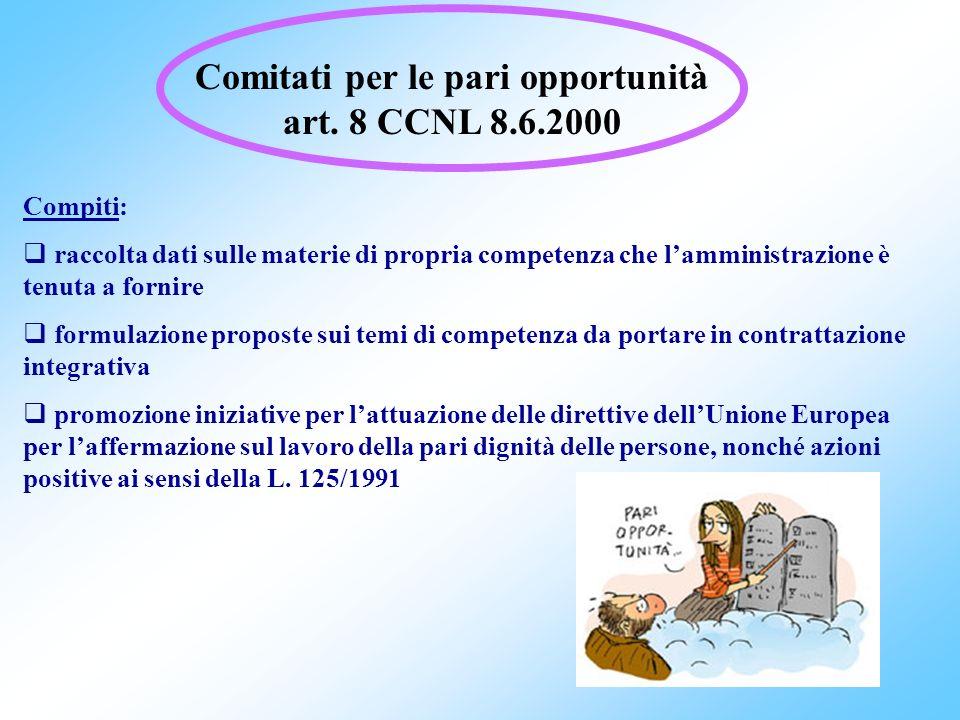 58 D.Lgs. 29/1993 (oggi D.Lgs. 165/2001) Norme generali sullordinamento del lavoro alle dipendenze delle amministrazioni pubbliche Art. 7: 1.Le ammini