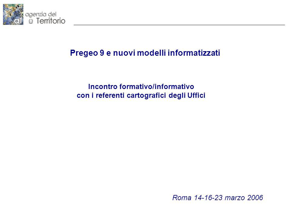 2 Direzione Centrale Cartografia Catasto e P.I.