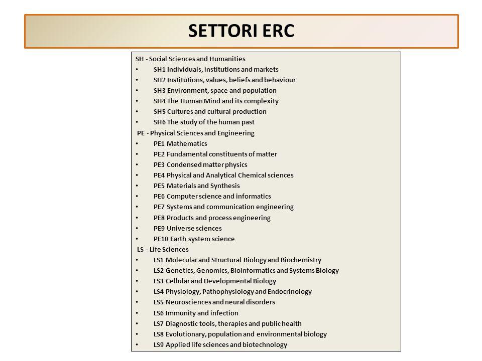 PROCEDURE DI VALUTAZIONE FUTURO IN RICERCA La procedura di valutazione e selezione delle proposte si svolge in tre fasi: preselezione, sulla base di sintetiche proposte da presentare entro il 4 febbraio 2013 valutazione, sulla base di più dettagliati progetti da presentare entro il 7 giugno 2013 audizioni, da completare entro il 27 ottobre 2013 TUTTA LA PROCEDURA È CURATA DAL M INISTERO, CHE OPERA MEDIANTE C OMITATI DI S ELEZIONE (C D S), RIFERITI AI SETTORI ERC, NOMINATI CON DECRETO DIRETTORIALE, ENTRO IL 28 FEBBRAIO 2013, PREVIA DESIGNAZIONE DEI SUOI COMPONENTI DA PARTE DEL C OMITATO N AZIONALE DEI G ARANTI DELLA R ICERCA (CNGR).