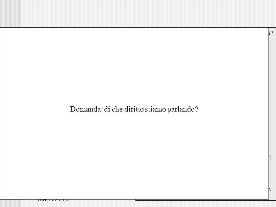 marzo2010M.C. De Vivo16 Il digitale influenza il diritto.
