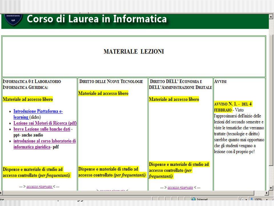 MarzoAprileMaggio 2011M.C. De Vivo7 Diritto e Nuove Tecnologie
