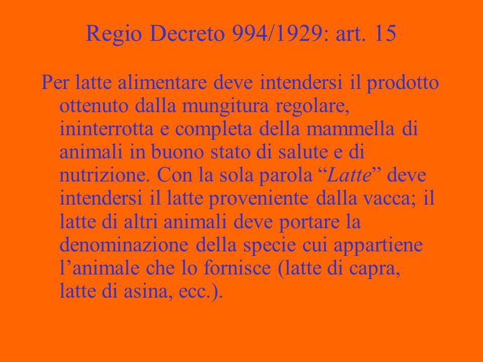 Regio Decreto 994/1929: art.