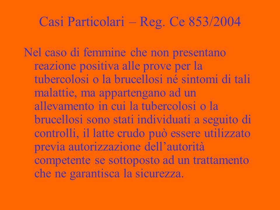 Casi Particolari – Reg.