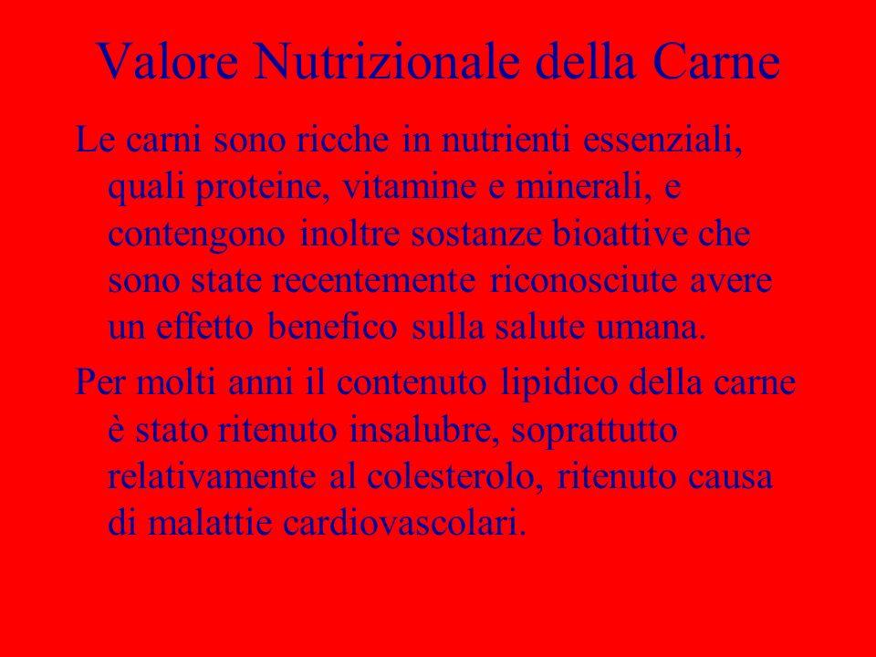 Contenuto di Minerali in 100 g di Carne Filetto bovino Filetto vitello Coscio agnello Sodiomg41,089,068,0 Calciomg4,014,013,0 Zincomg2,8 3,3 Potassiomg330,0360,0338,0 Fosforomg200,0214,0213,0 Ramemg0,1 0,2 Ferromg1,92,32,0 Magnesio mg20,025,020,0 Selenio g 17,06,018,0