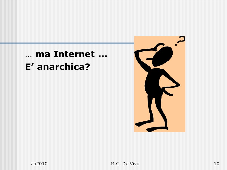 aa2010M.C. De Vivo10 … ma Internet … E anarchica?