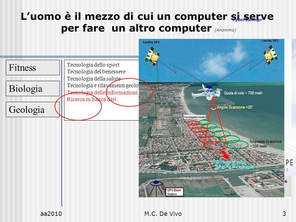 aa2010M.C. De Vivo3 Fitness Tecnologia dello sport Tecnologia del benessere Tecnologia della salute Tecnologia e rilavamenti geologici Tecnologia dell