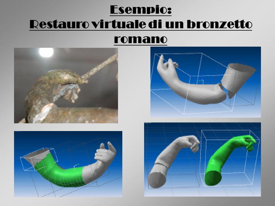 Esempio: Restauro virtuale di un bronzetto romano