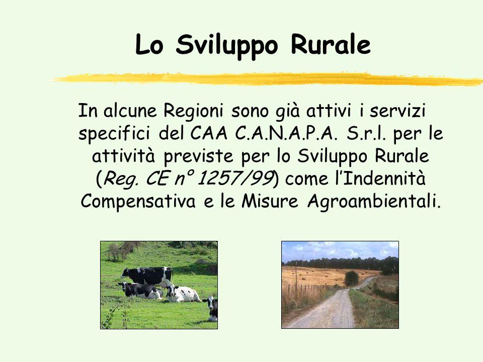 ……….e lo Sviluppo Rurale