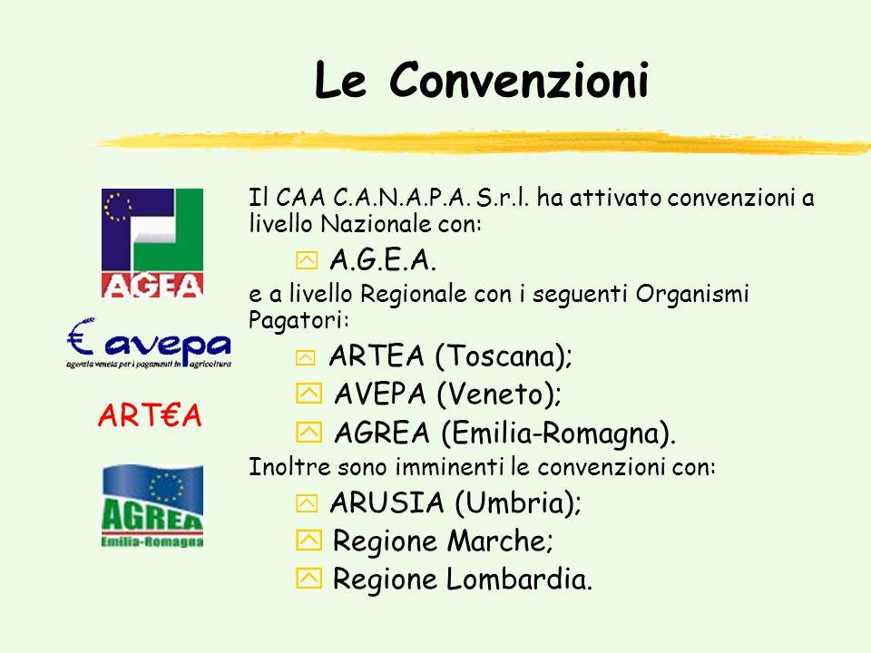 Le Convenzioni Il CAA C.A.N.A.P.A.S.r.l.