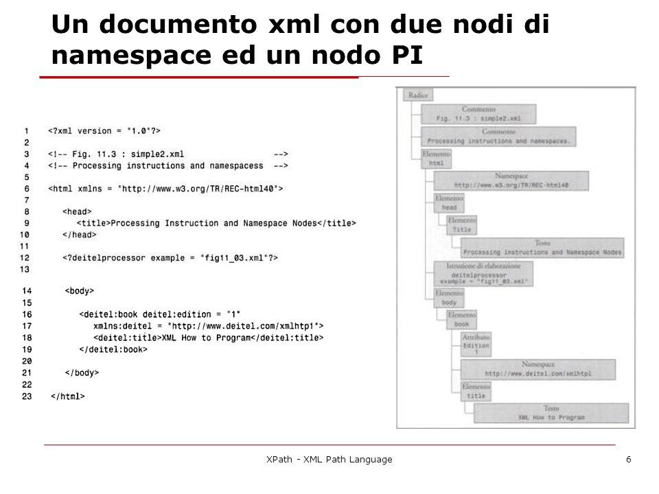XPath - XML Path Language37 990 Roma 240...