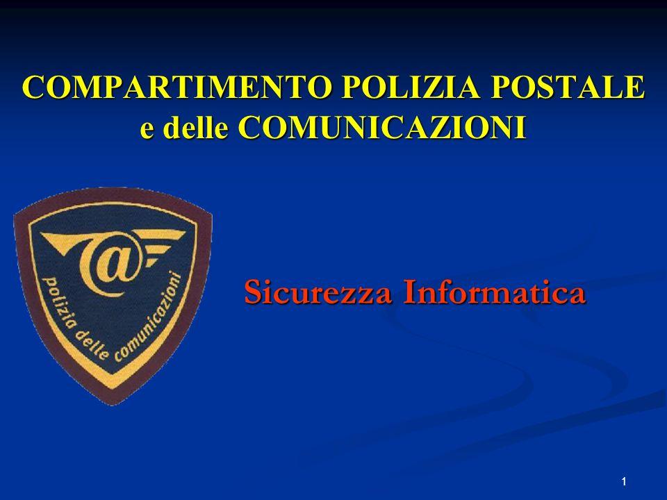 1 COMPARTIMENTO POLIZIA POSTALE e delle COMUNICAZIONI Sicurezza Informatica