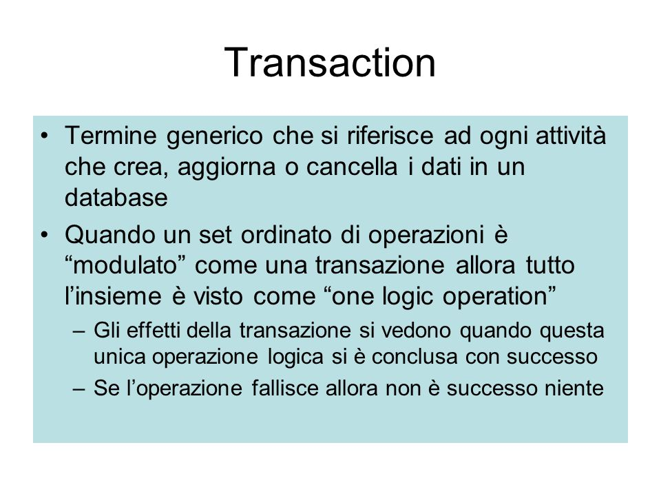 4. BUSINESS TRANSACTION (BT)