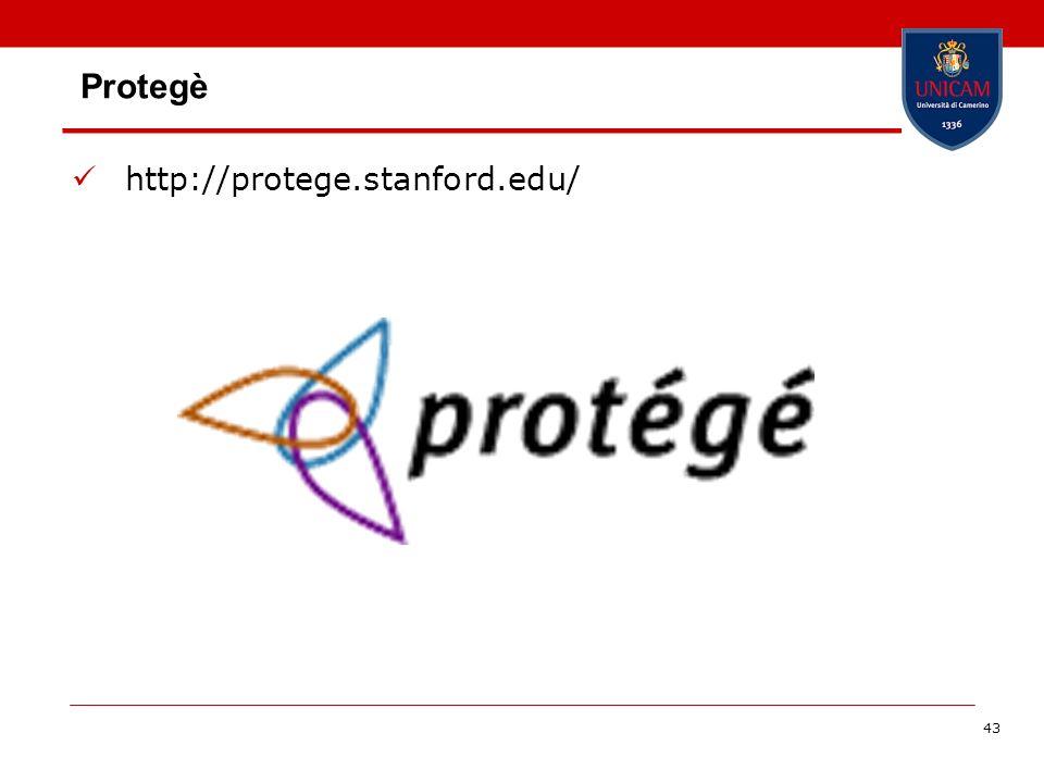 43 Protegè http://protege.stanford.edu/