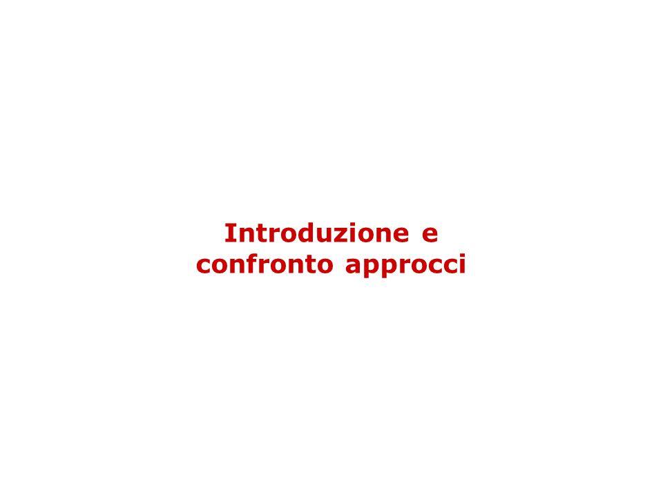 Introduzione e confronto approcci