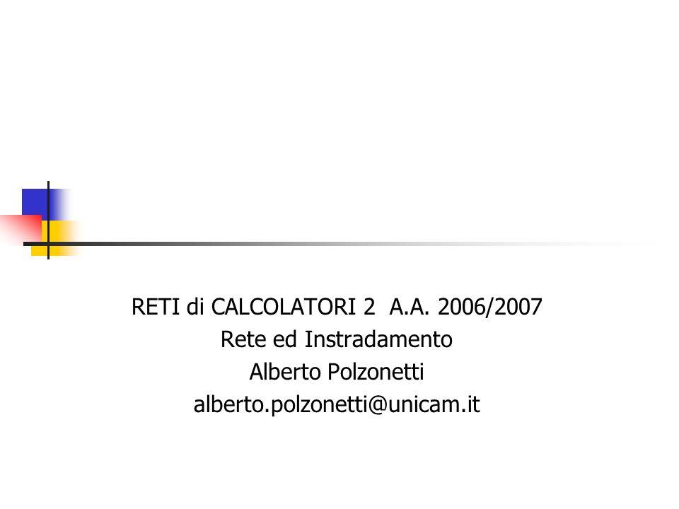 RETI di CALCOLATORI 2 A.A.