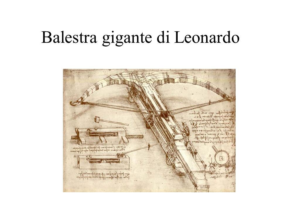 Balestra gigante di Leonardo