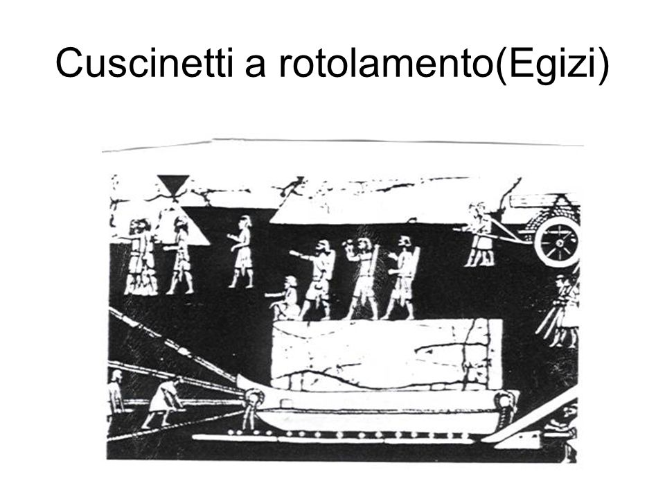 Cuscinetti a rotolamento(Egizi)