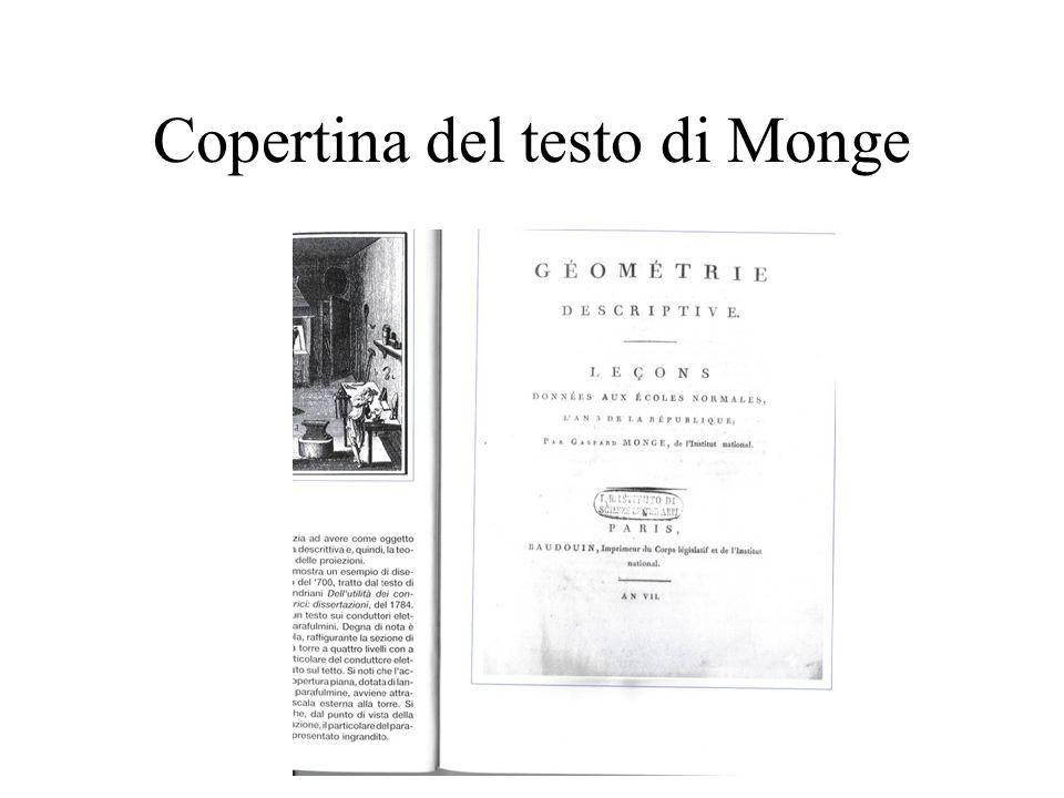 Copertina del testo di Monge