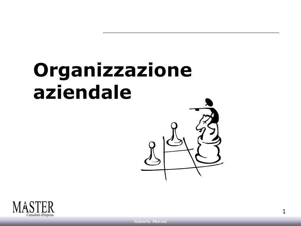 Annarita Gelasio Roberto Moroni 1 Organizzazione aziendale