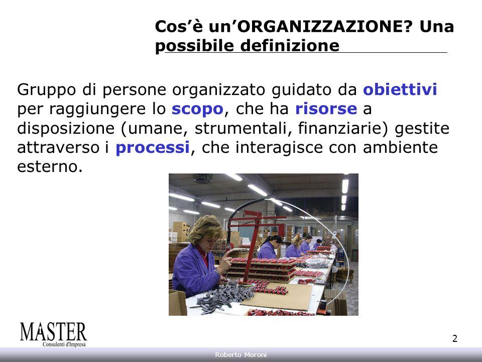 Annarita Gelasio Roberto Moroni 2 Gruppo di persone organizzato guidato da obiettivi per raggiungere lo scopo, che ha risorse a disposizione (umane, s