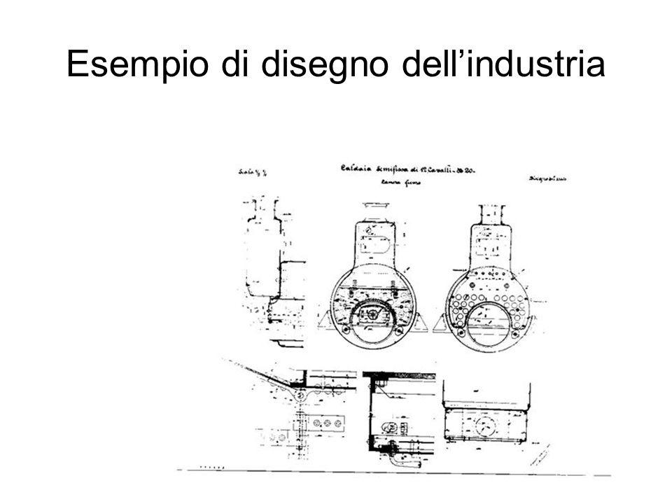 Esempio di disegno dellindustria