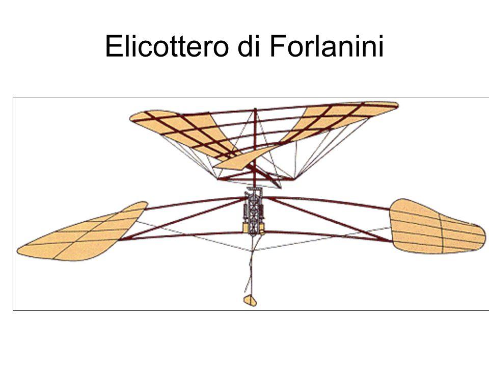 Progetti di Forlanini con Dal Fabbro(1897) Idroplano (antenato dellaliscafo)(prime sperimentazioni nel 1903) Dirigibile semirigido Leonardo da Vinci(volerà nel 1909 e sarà seguito da altri sette)