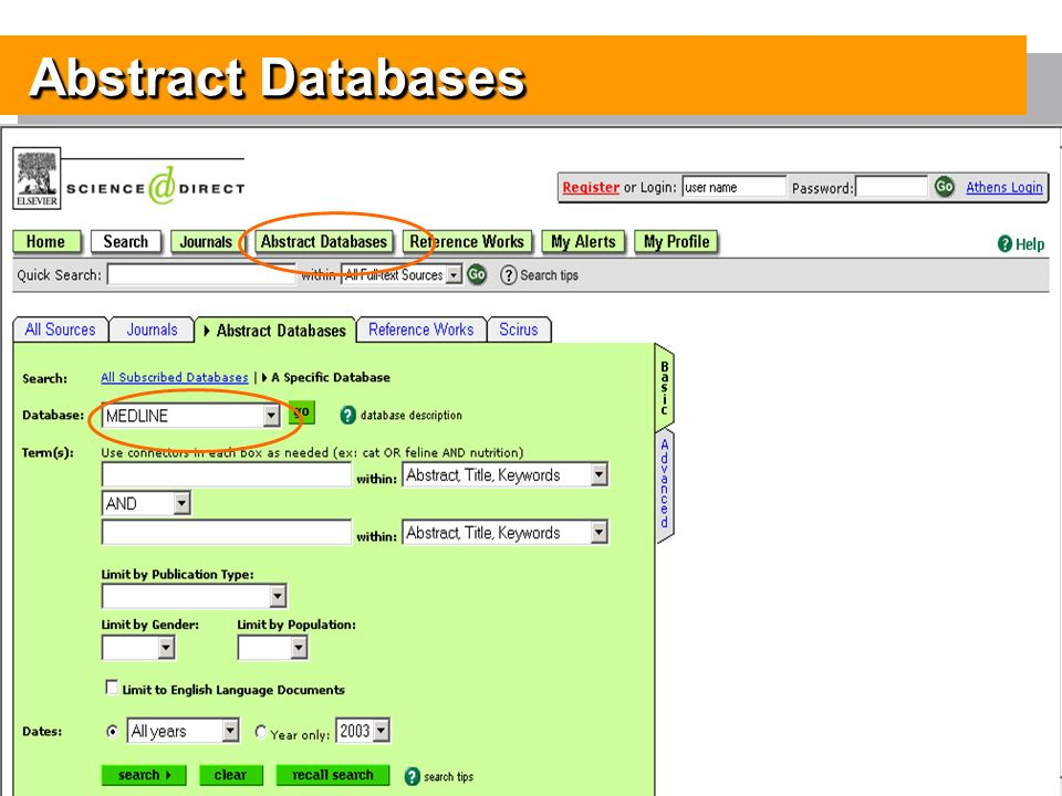 11 Abstract Databases