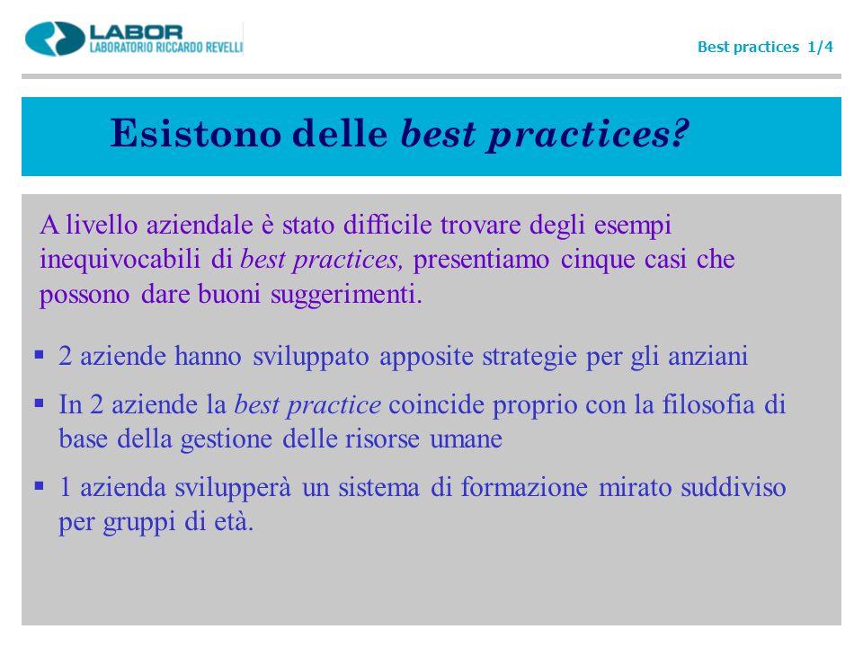 Esistono delle best practices? A livello aziendale è stato difficile trovare degli esempi inequivocabili di best practices, presentiamo cinque casi ch