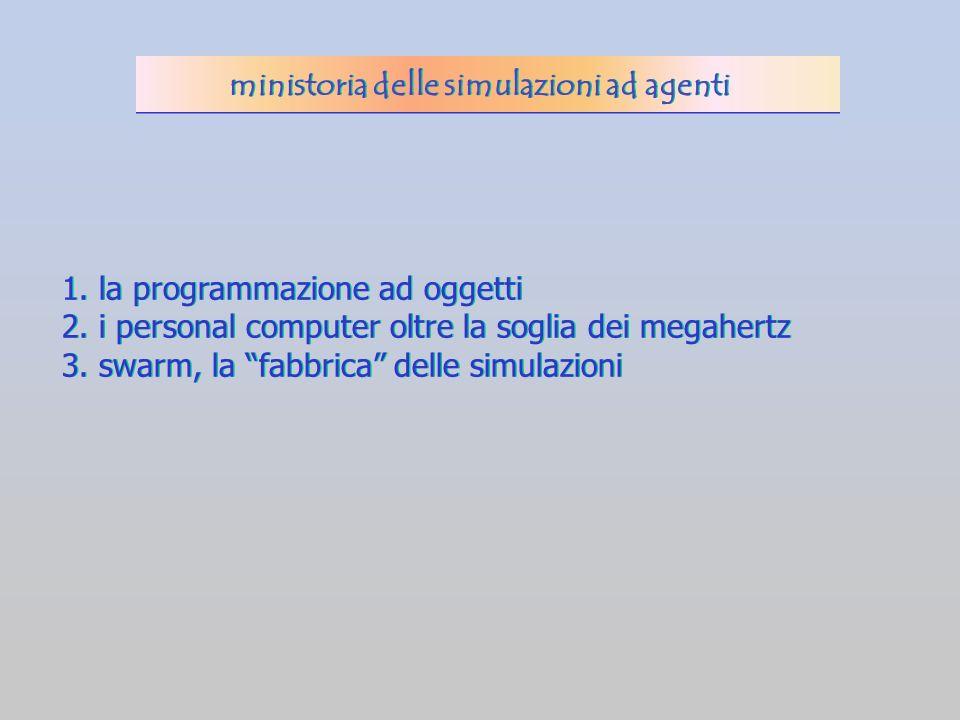 1.la programmazione ad oggetti 2. i personal computer oltre la soglia dei megahertz 3.