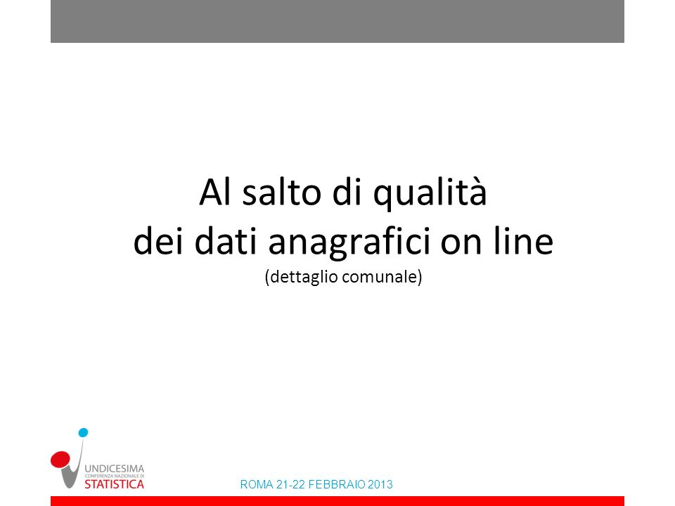 ROMA 21-22 FEBBRAIO 2013 Cittadini Stranieri.