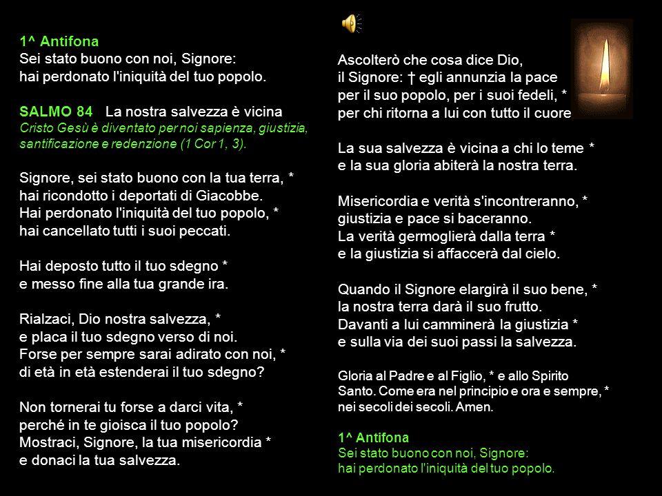5 NOVEMBRE 2013 MARTEDÌ - III SETTIMANA DEL SALTERIO DEL T.