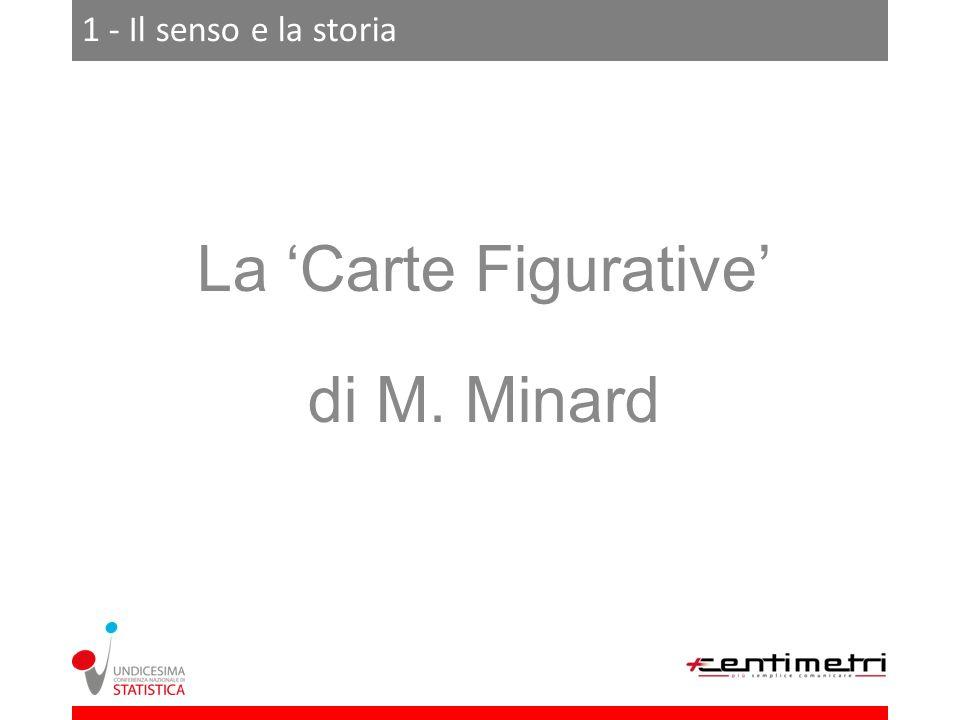 1 - Il senso e la storia La Carte Figurative di M. Minard