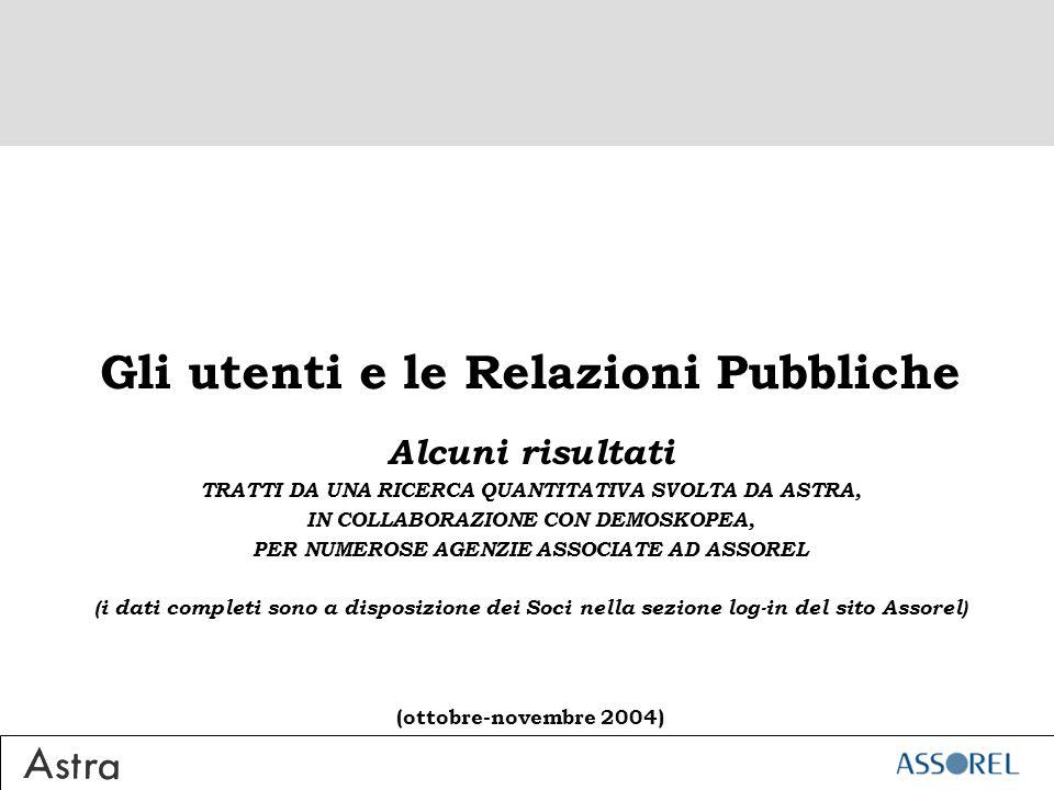 La conoscenza totale delle agenzie di Relazioni Pubbliche
