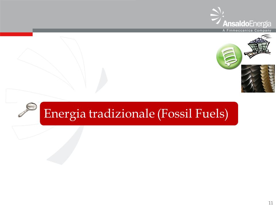 11 Energia tradizionale (Fossil Fuels)