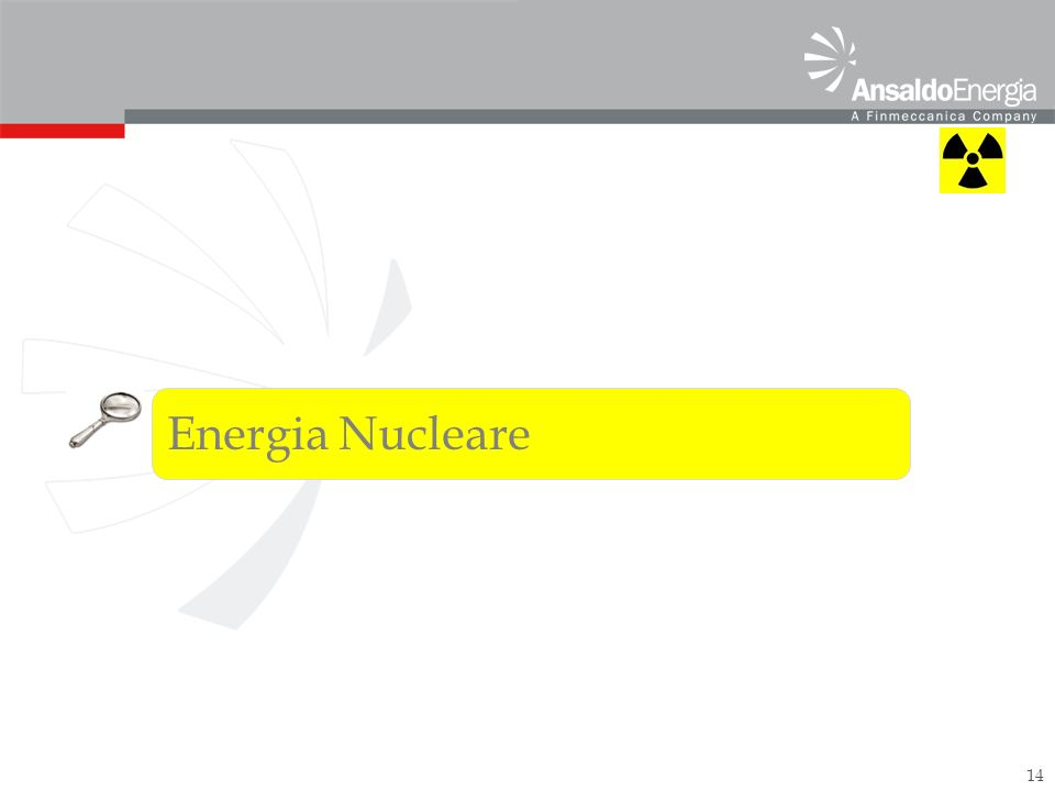14 Energia Nucleare