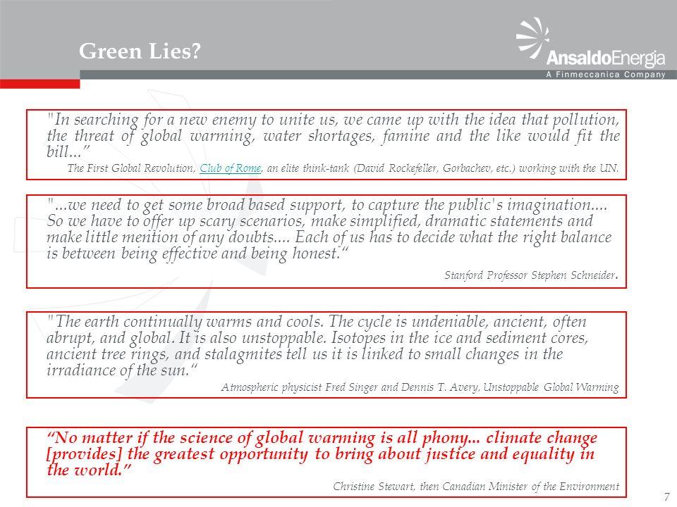 7 Green Lies.