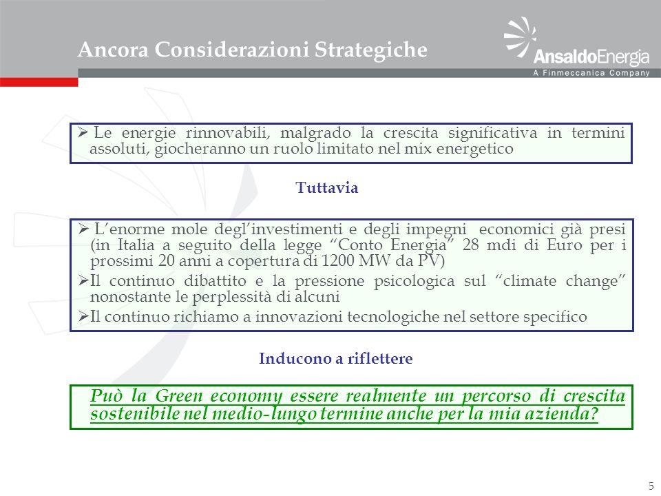 6 Risposta di AEN Nonostante alcune perplessità derivanti da quanto sopra, si è deciso: Attivarsi nella ricerca e nello sfruttamento di combustibili sintetici, derivanti dal recupero di elementi residuali (olii, rifiuti solidi,..) Ridurre i consumi nei processi manifatturieri ed impiantistici (Life Cycle Assessment) Continuare lo sviluppo di Multicarbonate Fuel Cell per CO 2 sequestration (17 brevetti europei e 3 richieste di brevetto depositate) Utilizzare le competenze sulla combustione con gas a basso potere calorifico per il recupero di gas di scarto da utilizzare nelle microturbine Sfruttare le capacità come fornitore di sistemi integrati e complessi anche nel campo delle rinnovabili (PV, eolico, biomasse,..) utilizzando componentistica disponibile sul mercato (commodities).