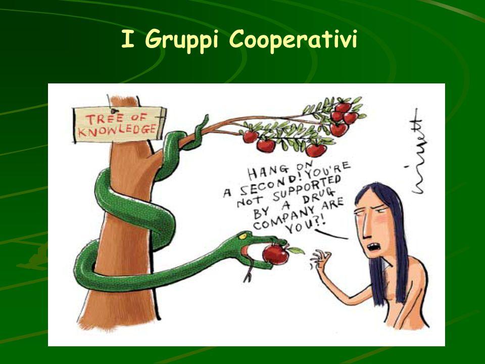 I Gruppi Cooperativi Una gloria del sistema oncologia, in Italia e nel Mondo. Ma la fonte principale di risorse economiche è costituita dalle aziende