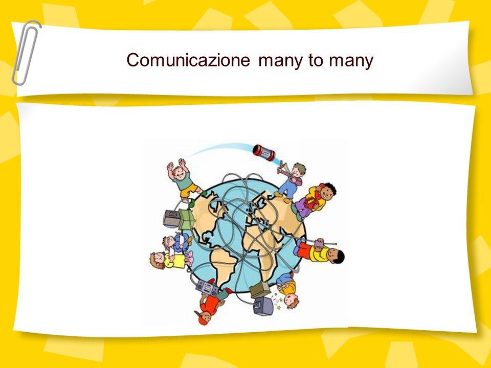 Comunicazione many to many
