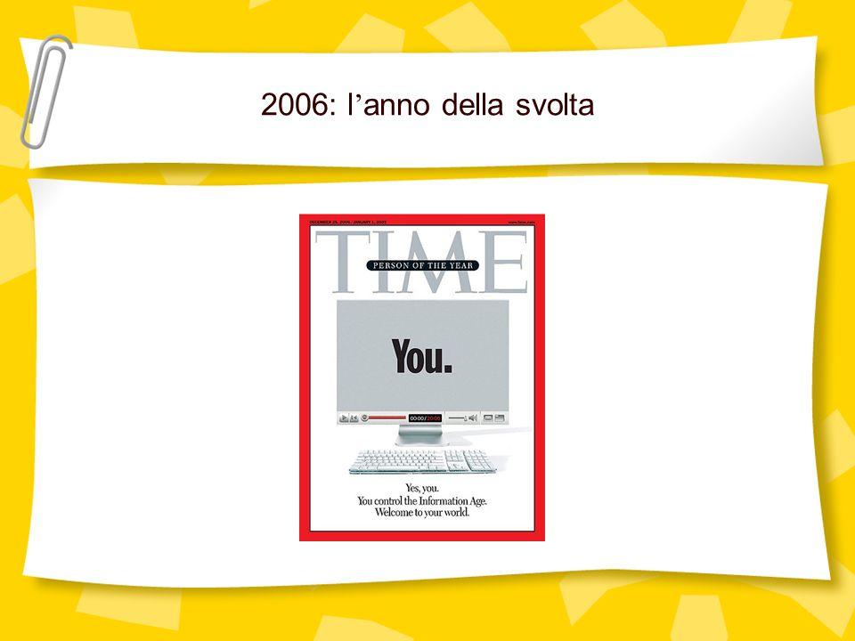 2006: l anno della svolta