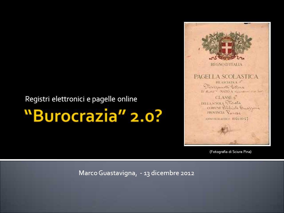 Registri elettronici e pagelle online Marco Guastavigna, - 13 dicembre 2012 (Fotografia di Sciura Pina)