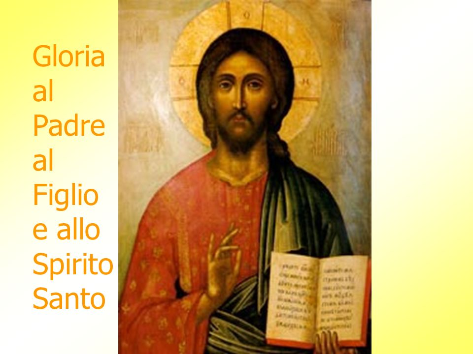 Orsù dunque avvocata nostra rivolgi a noi gli occhi tuoi misericordiosi e mostraci dopo questo esilio, Gesù, il frutto benedetto del tuo seno.