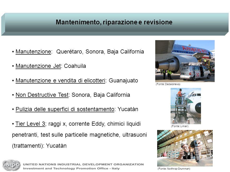 Mantenimento, riparazione e revisione Manutenzione: Querétaro, Sonora, Baja California Manutenzione Jet: Coahuila Manutenzione e vendita di elicotteri