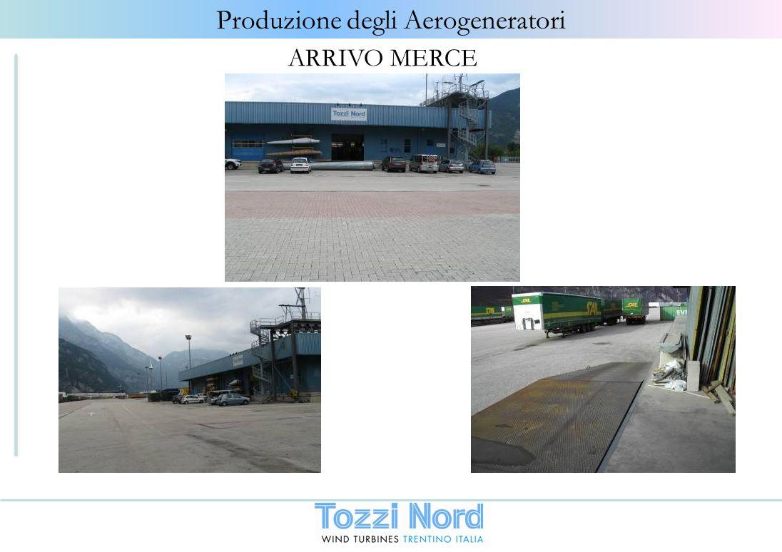 Produzione degli Aerogeneratori ARRIVO MERCE
