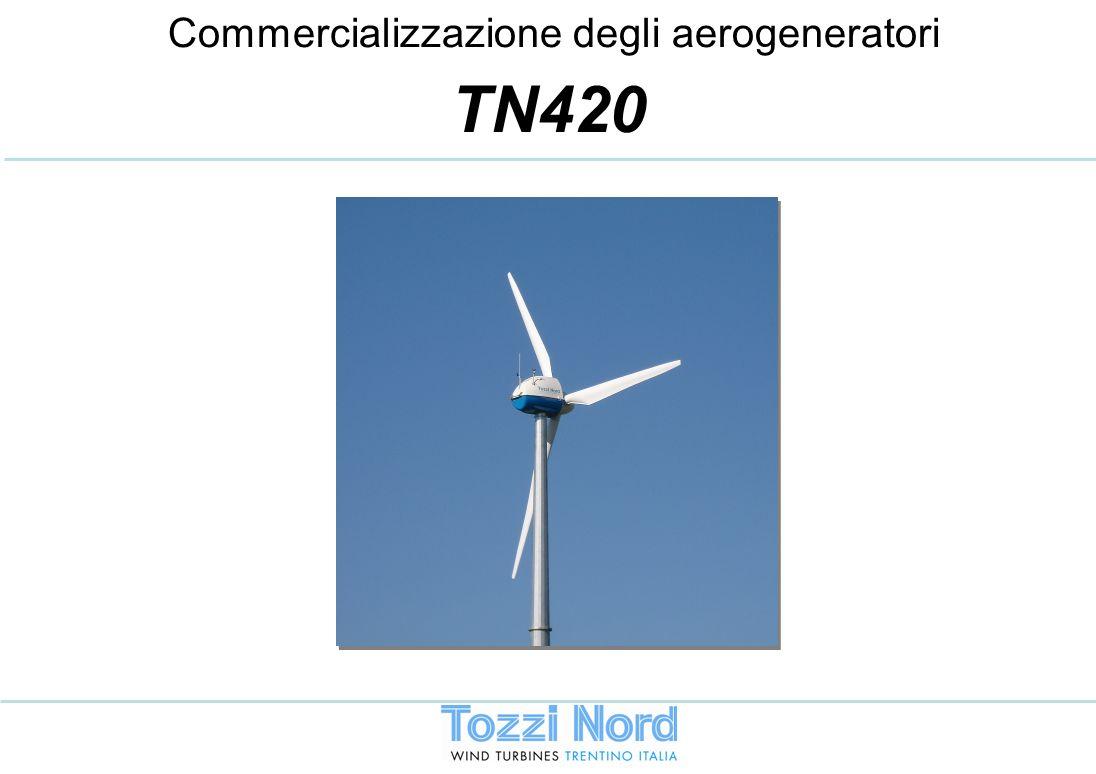 Commercializzazione degli aerogeneratori TN420