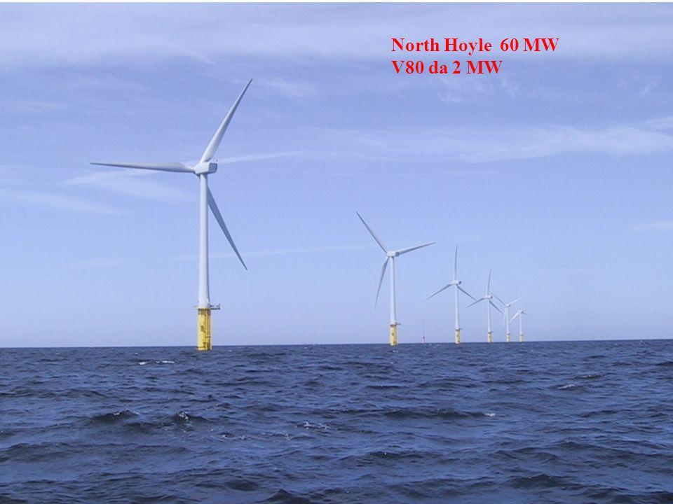 North Hoyle 60 MW V80 da 2 MW