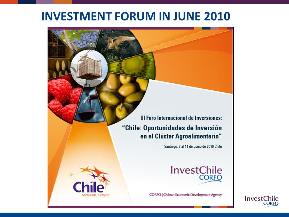 INVESTMENT FORUM IN JUNE 2010