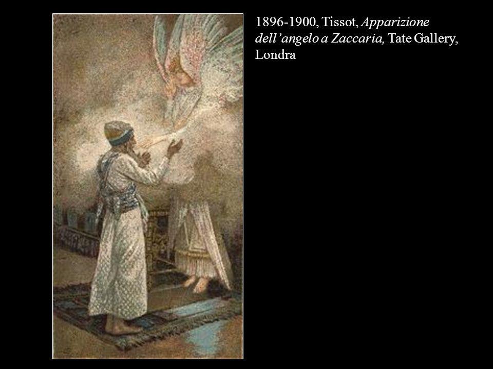 1896-1900, Tissot, Apparizione dellangelo a Zaccaria, Tate Gallery, Londra